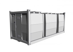 storage container<br />double walled<br />(10 ft. - 40 ft.)